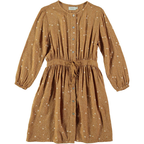 Liv Liberty Girl Dress, Biscuit
