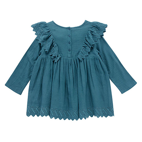 Louise Misha Reka Dress, Green Blue