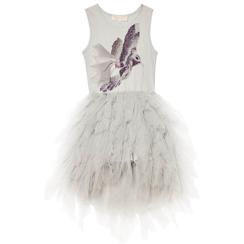 Tutu Du Monde Winter Snowfall Tutu Dress, Silver
