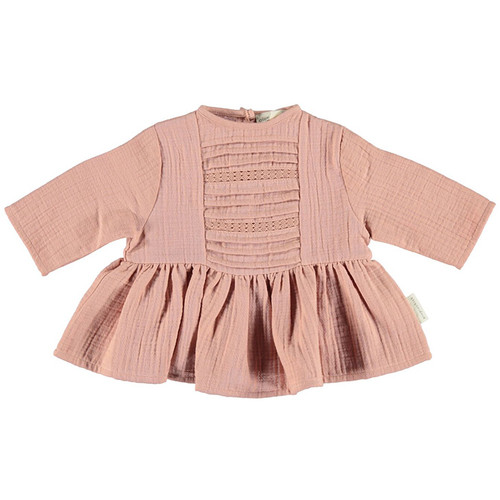 Romantic Shirt with Laces, Light Pink