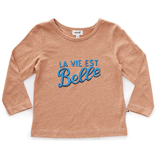 Oeuf Tee Shirt, Belle/Brown