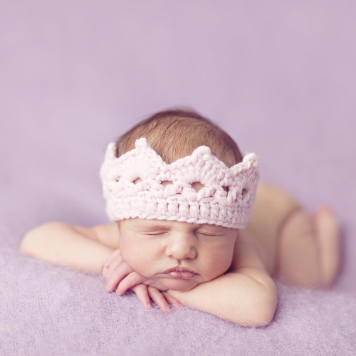 Baby Crown, Pink