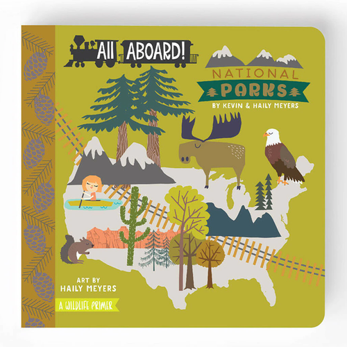 All Aboard National Parks: A Wildlife Primer Book
