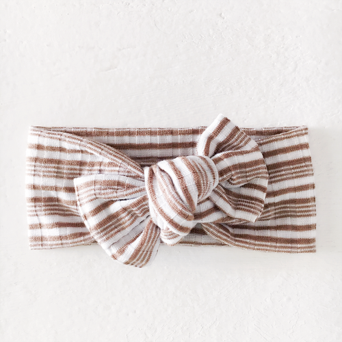 Tie On, Mocha Stripe