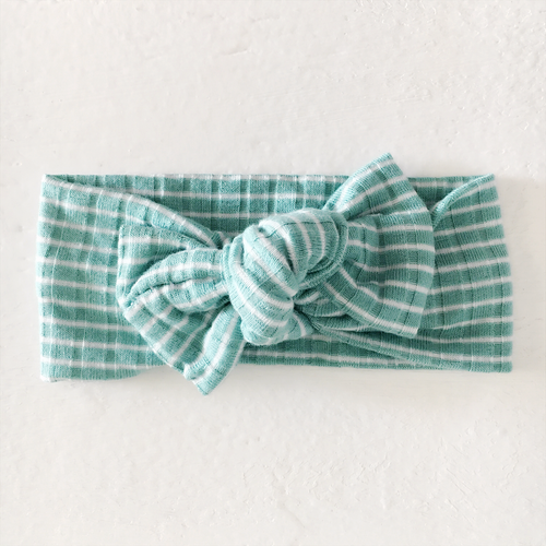 Tie On, Mint Stripe