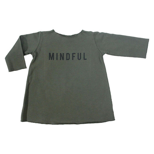 Fleece Mindful Dress, Military