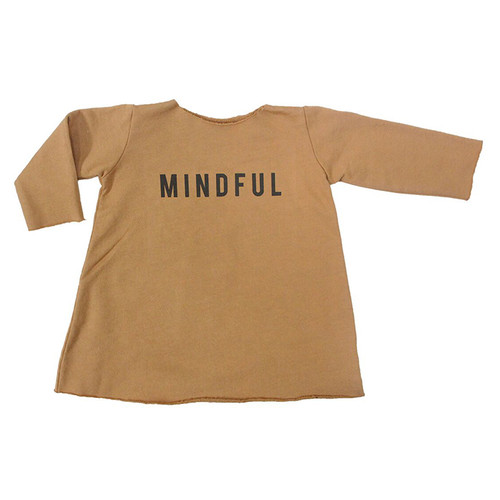 Fleece Mindful Dress, Flax