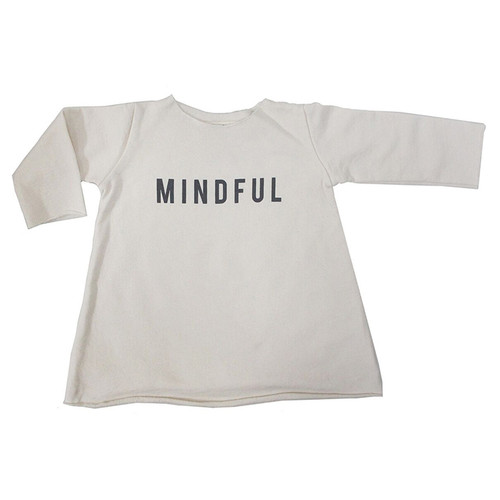 Fleece Mindful Dress, Natural