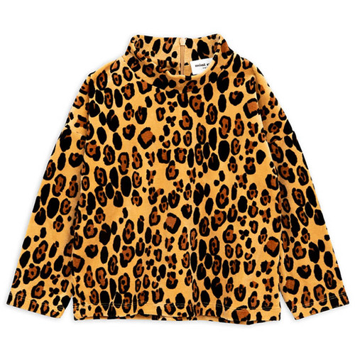 Mini Rodini Leopard Velour Sweatshirt