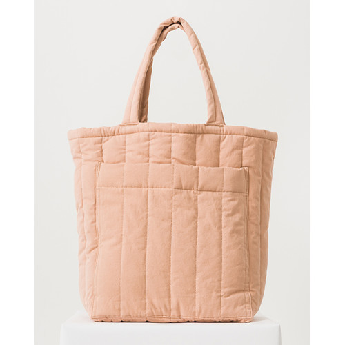 Quilted Pocket Tote, Canyon