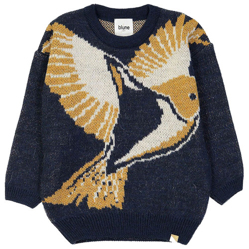 A Tire D'aile Sweater, Navy