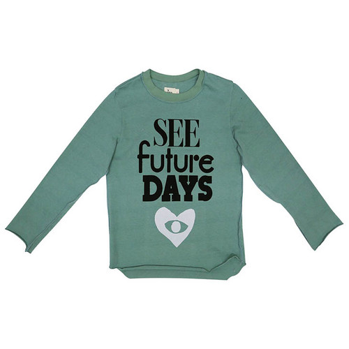 See Future Days Long Sleeve Tee, Moss