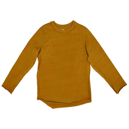 Wonder Long Sleeve Tee, Mustard
