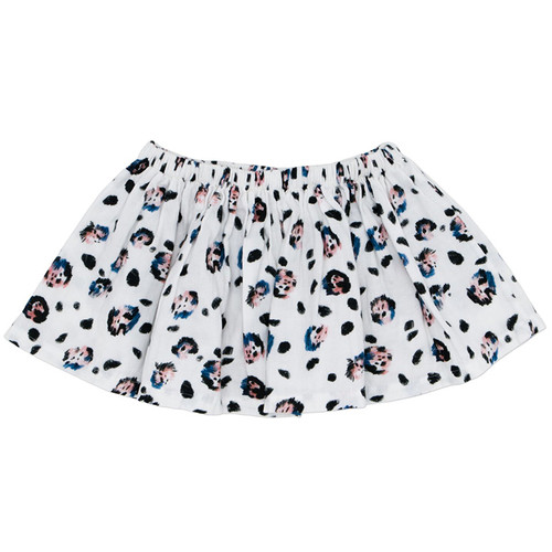Roller Skirt, Snow Leopard