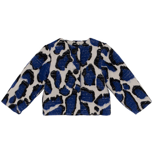 Baby Coat, Blue Leopard