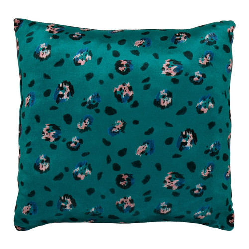 XL Floor Pillow, Emerald Leopard