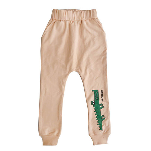 Drop Crotch Sweat Pants, Crocodile