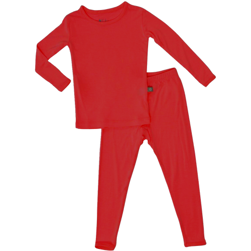 Toddler Pajama Set, Red
