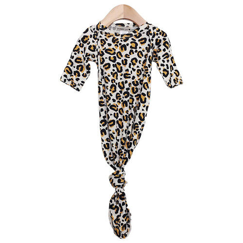 Knotted Gown, Leopard