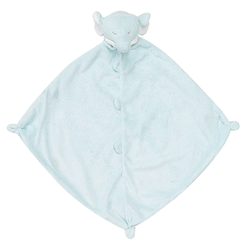 Elephant Security Blankie, Powder Blue