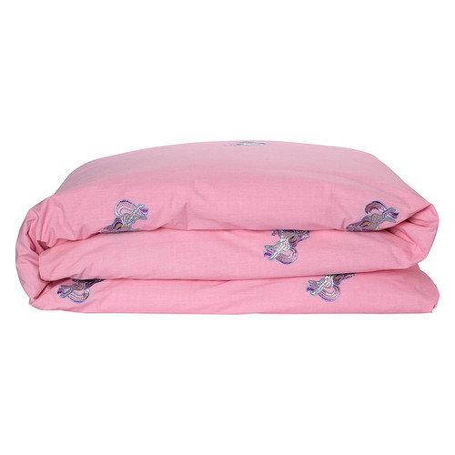 Twin Embroidered Duvet Cover, Unicorn