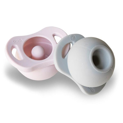 The Pop® Pacifier Twin-Pack, Lilac/Grey
