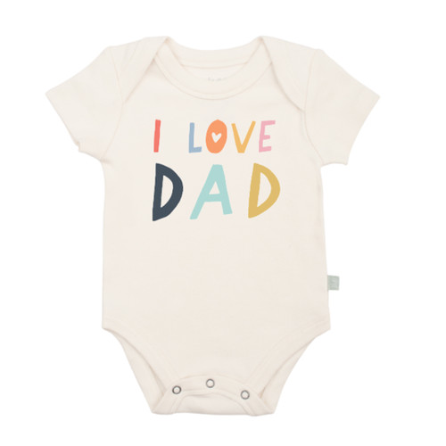 Graphic Bodysuit, Love Dad