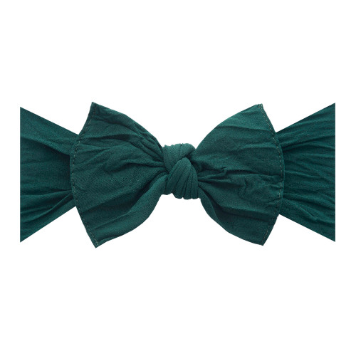 Knot Bow, Forest Green