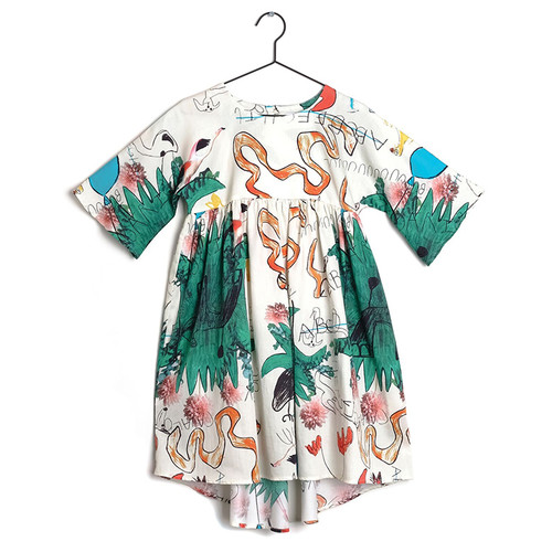Wolf & RIta Silvia Dress, Snakes & Ladders
