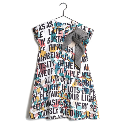 Wolf & Rita Teresa Dress, Kids Motto