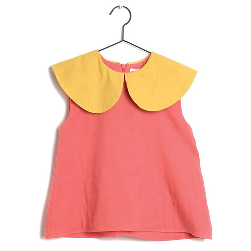 Wolf & Rita Roshina Blouse, Coral Yellow