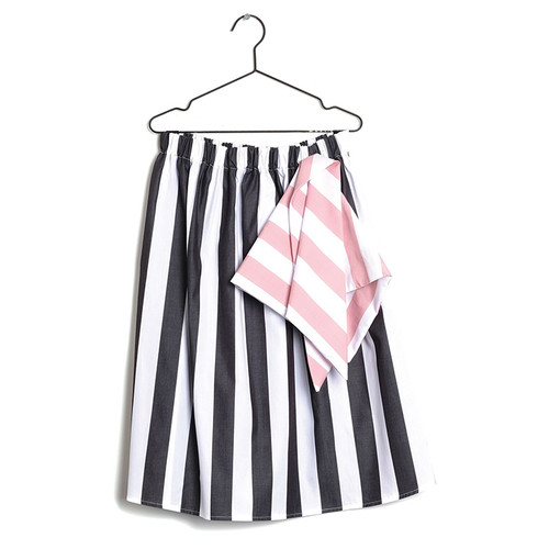 Wolf & Rita Lurdes Skirt, White Stripes