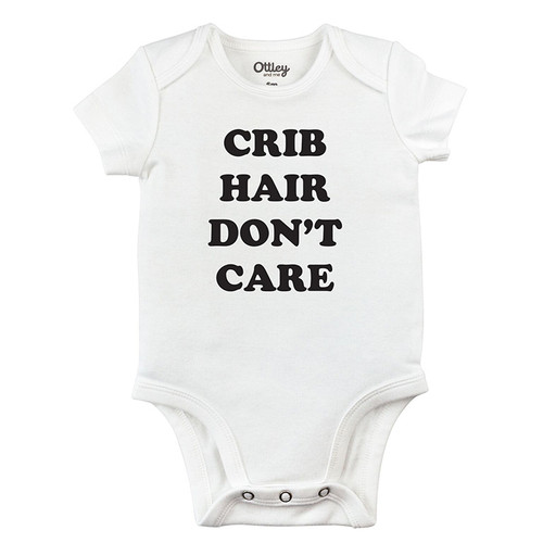 Crib Hair Don't Care Bodysuit