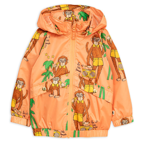 Mini Rodini Cool Monkey Sporty Jacket, Pink