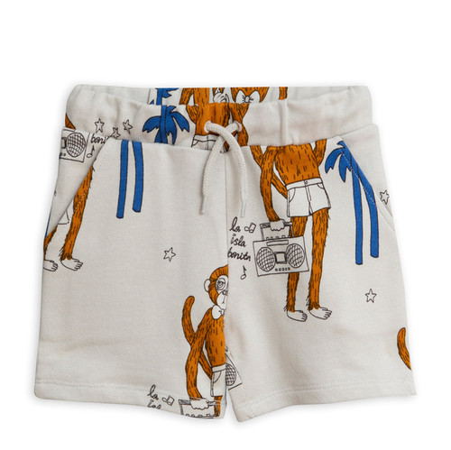 Mini Rodini Cool Monkey Sweatshorts, Grey