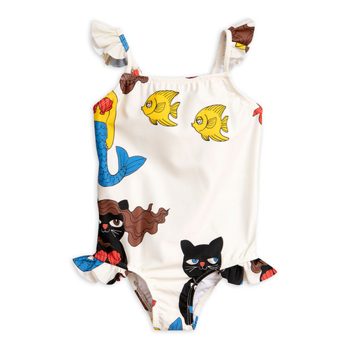 Mini Rodini Cat Mermaid Wing Swimsuit