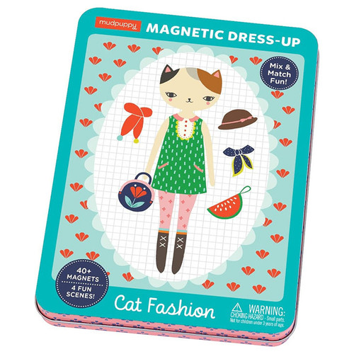 Cat Fashion Magnetic Dress-Up
