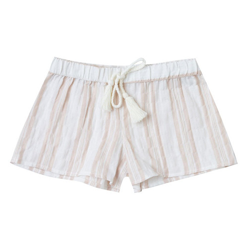 Rylee & Cru Scallop Short, Stripe