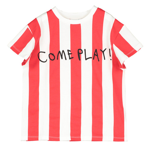 Short Sleeve T-Shirt, Deck Chair Stripe