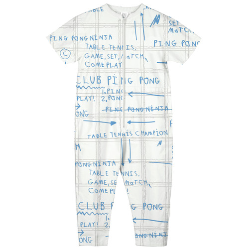 Poplin Jumpsuit, Game Plan