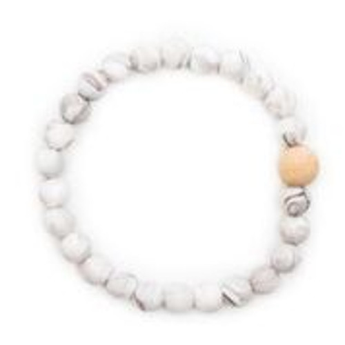 Mom's Teething Bracelet,  Marble