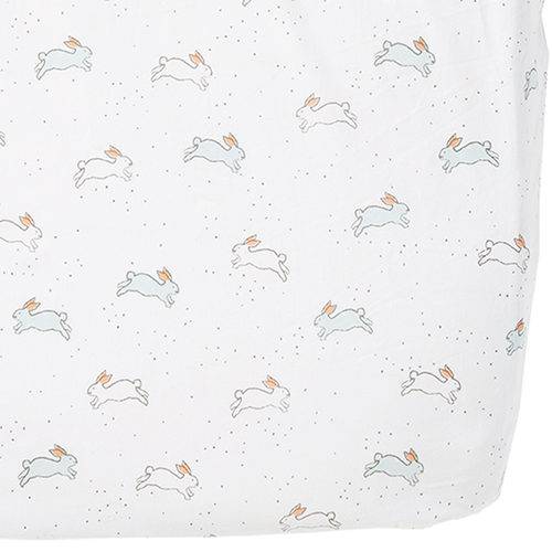 Tiny Bunnies Crib Sheet