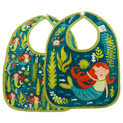 Mini Bib Set, Isla the Mermaid