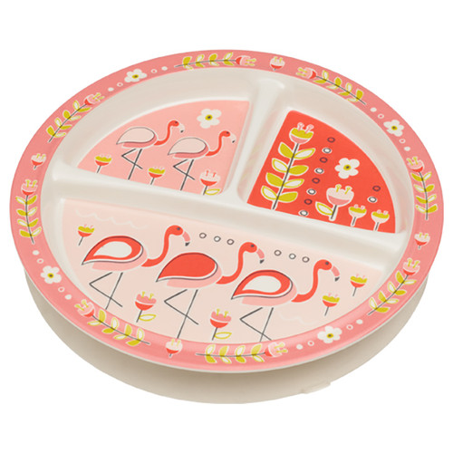 Divided Suction Plate, Flamingo