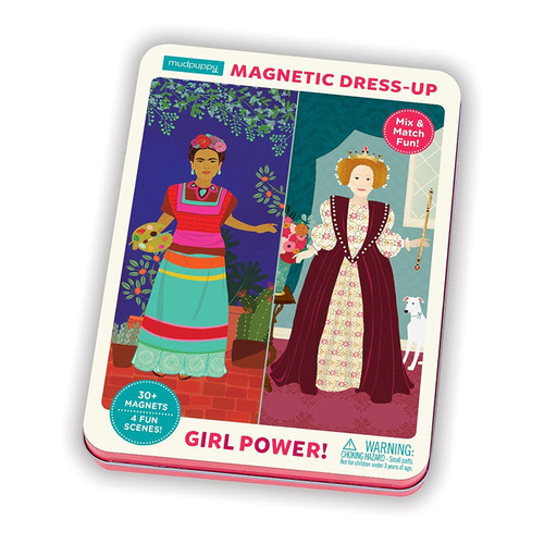 Magnetic Figurines, Girl Power!