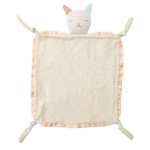 Cat Knotted Security Blanket