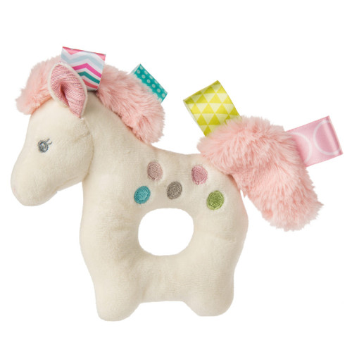 Taggies Polka Dot Pony Rattle