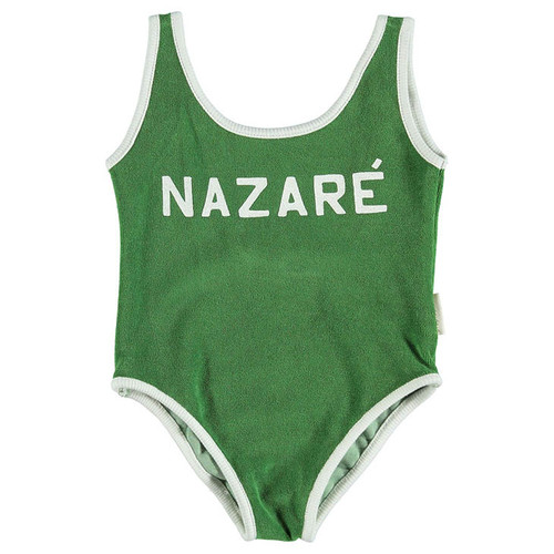 "Swimsuit, Green ""Nazare"""