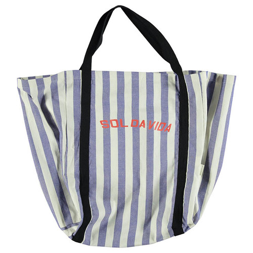 "Bag, Blue Stripes ""Sol Da Vida"""