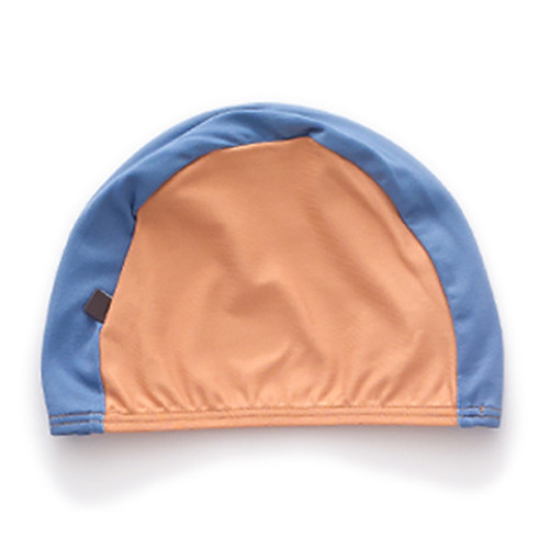 Oeuf Bathing Cap, Ochre/Blue
